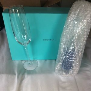 Tiffany & Co Set of Two Champagne Flutes